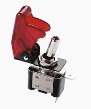 RED TOP GUN trasparente on / off Car Dash dashboard attivare o disattivare Flick switch con LED