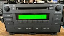 Toyota Prius Hybrid XW30 Third Generation radio receptor, DAB MP3 reproductor de CD Aux