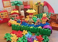 LEGO DUPLO enormi MISC Bundle lotto OdL Inc FIGURE Windows piante CARS WINNIE diapositiva
