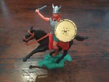 Timpo Viking/ Norseman Mounted - Scandinavian Warrior - 1970's
