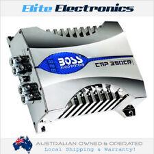 BOSS AUDIO CAP350CR 35 FARAD DIGITAL BLUE VOLTAGE DISPLAY HYBRID CAPACITOR POWER