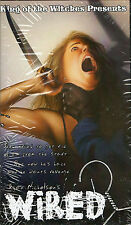 Wired aka Hanger VHS KOW Ryan Nicholson Plotdigger Film King of the Witches Gore