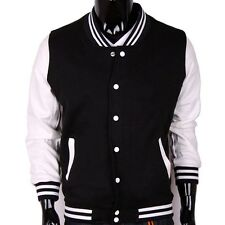 Casual Unisex Varsity Baseball Letterman Jacket College Sports Jacket USA Seller