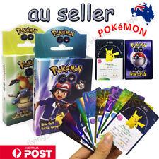 70PCS 2 Packs Pokemon Cards GX Full Art Ultra Rare Shiny Pokemon Go Cards Gift