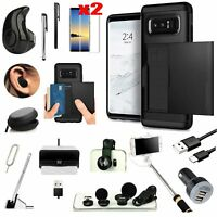 For Samsung Galaxy S9 Plus Pocket Case Wireless Headset Monopod Accessory Black