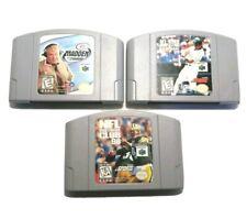 Nintendo 64 Game Lot Sports Game Lot Of 3–2 Football 1 Baseball Nes 64