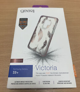 Gear4 Victoria Feather Case for Samsung Galaxy S9 Plus. D30 Impact Protection
