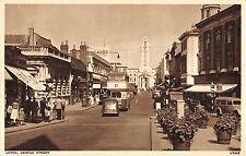 BR74785 luton george street car voiture double decker bus  real photo   uk