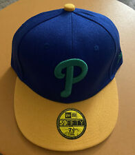 Philadelphia Phillies New Era Fitted Cap Size 7 1/2
