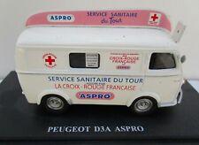ixo 1/43 - véhicules Publicitaires -Tour de France peugeot D3a Aspro