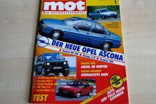1) MOT 01/1987 - Honda Prelude EX 2.0i-16 4WS m - Austin Metro 1.3 Mayfair mit 6