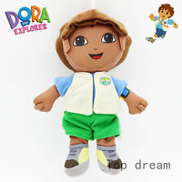 New Cartoon Dora the Explorer Go Diego Go Plush Soft Doll Toy 20cm 8'' Kids Gift