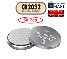 50 X CR2032 3V Lithium COIN CELL BUTTON BATTERIES DL2032 LM2032 UK BN
