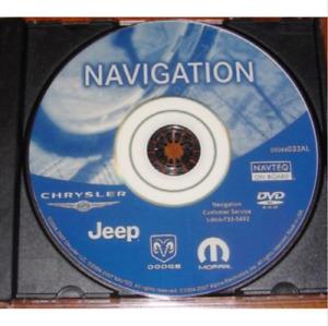 New Jeep Grand Commander Compass Patriot Nav Map Update DVD GPS p/n: 05064033AL