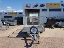 """10x5 TANDEM GALVANISED CAGE TRAILER - HEAVY DUTY 