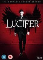 Lucifer: The Complete Second Season DVD (2017) Tom Ellis cert 15 3 discs