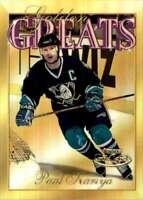 2000-01 Topps Gold Label Golden Greats Paul Kariya #GG2 Tw1246