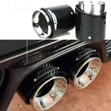 MINI R55 R56 R57 R58 R59 JCW Pair Carbon Fibre Exhaust Tips John Cooper Works S