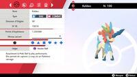 Pokemon KELDEO 6iv niveau 100 (épée/bouclier)