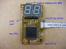 5 in 1 notebook laptop Diagnose Test Debug Post Card Mini PCI I2C PCI-E LPC ELPC