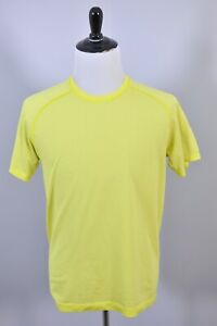 Lululemon Metal Vent SS Shirt Yellow Men's Medium M