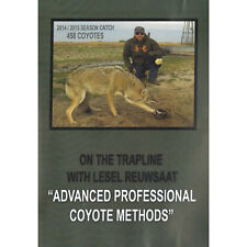 DVD Lesel Reuwasaat advanced professional coyote methods  trapping 1 hr 35 min