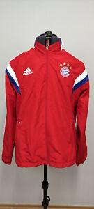 Adidas Bayern Munich Munchen Mens Warmp Up Training Jacket 2013 2014 Size Large