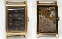 Orologio Cyma precision 335 vintage watch anni 30 clock rectangular montre reloj