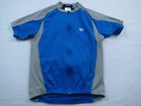 Pearl Izumi Womens Blue Gray Bike Cycling Jersey Sz M Medium Shirt MTB Race Team
