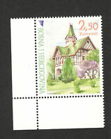 BOSNIA -MNH-STAMP-Architecture Castle Zavidovici-2008.