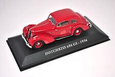 Voiture modèle réduit collection 1/43ème Hotchkiss 686 GS de 1936