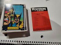 1988 MARVEL UNIVERSE SERIES 3 WOLVERINE  COMIC IMAGES  50 CARD SET(MISSING #8
