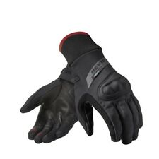 GUANTI GLOVES  IN PELLE NERI CRATER WSP REV'IT SIZE XL