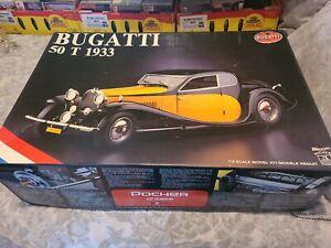 Pocher Bugatti 50T 1933 Yellow 1:8 Model Car Parts Only Please Read Description