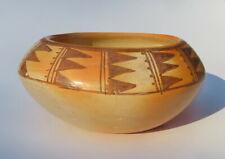"""Vintage Pueblo Pottery Bowl 6"""" diameter Signed"""