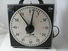 Gra-Lab, Dimco-Gray, Model 168 Dark Room Timer, 0-60 min. x 1 sec., USA