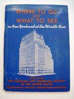 "1939 Booklet ""Equitable's Garden of Security"" - ""New York World's Fair 1939""   *"