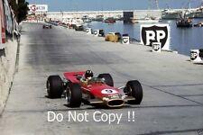 Graham Hill Gold Leaf Team Lotus 49B Winner Monaco Grand Prix 1968 Photograph 2