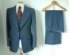 "1970's 3 PIECE SUIT..FLARES..40"" x 34""..70s DISCO..GLAM..MTM..SUPER CONDITION"