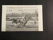 TWO LEA  Photo Horse Racing 1952 HOLLYWOOD GOLD CUP