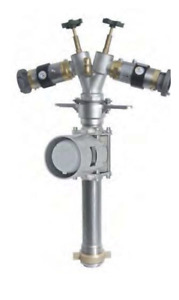 Drinking Wassermess 4000l/Min Tube DN80 2x Backflow Preventer Stainless Steel