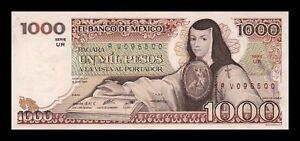 B-D-M México 1000 Pesos 1983 Pick 80a Serie UR SC- aUNC