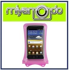 DiCAPac WP-C1 (Pink) Waterproof Case for Samsung/LG/HTC/Blackberry/Nokia