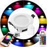 5W 9W RGB+CCT LED Decken Spot Einbauleuchte Set Einbau Strahler Dimmbar Lampen