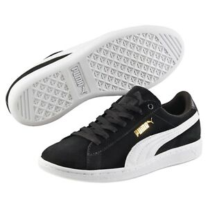 Puma Vikky Black Softfoam Women's Trainers Shoes - Sneakers Joggers Runners NEW!