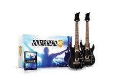 Guitar Hero Live 2-Pack Bundle w/ 2 Guitar Controllers Wii U New