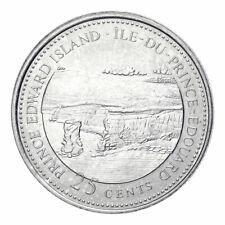 1867-1992 PEI CANADA 25 Cent Prince Edward Island BU Provincial Coin UNC