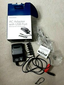 Insignia Adapter AC Adapter with USB Port NEW In Box