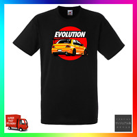 Evolution Inspired TShirt T-Shirt Tee Car JDM Modified Tuner Rally Track Style