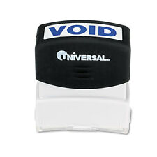 Universal Message Stamp, VOID, Pre-Inked/Re-Inkable, Blue